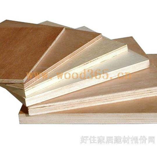 各种规格胶合板
