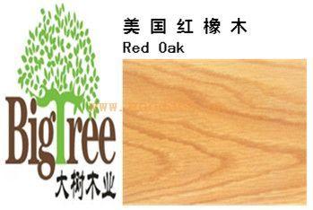 美国红橡(红栎木)实木板材