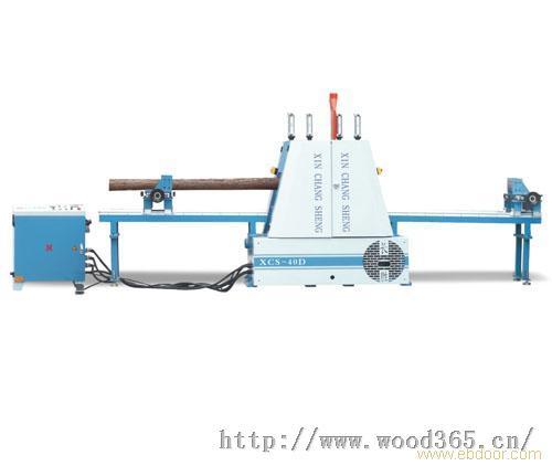 佛山全自动圆木框锯机HD20D 30D 40D竹木开薄片锯机