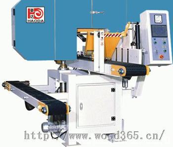 福建中小型带锯机HD450X200木工卧式带锯机