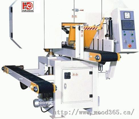 河南移动卧式带锯床HD250X200小型带锯机