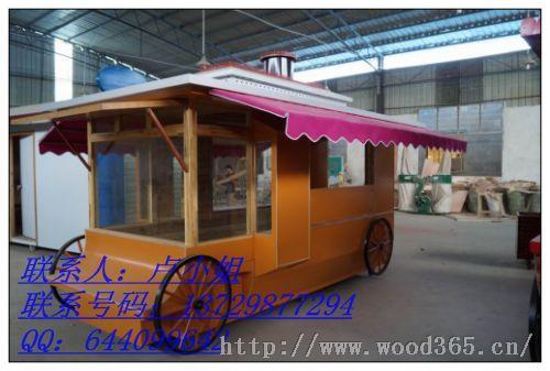 河南景区售货车;时尚售货车