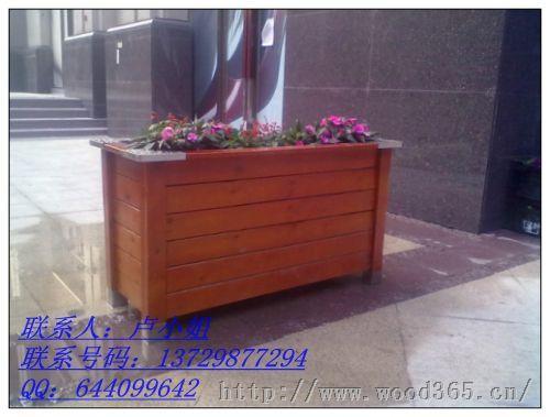 深圳景区花箱;实木花箱;户外花箱