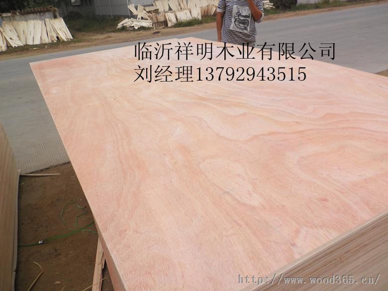 供应胶合板5厘包装板桃花芯面底包装板