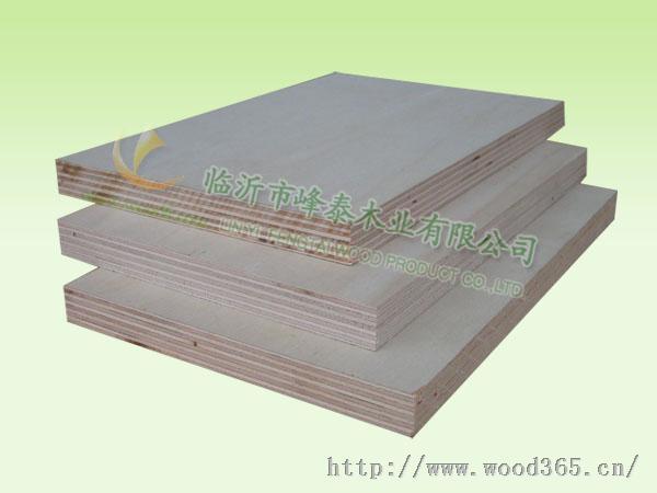 杨木加长加宽异型胶合板