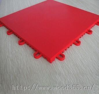 运动场悬浮拼装运动PVC地板