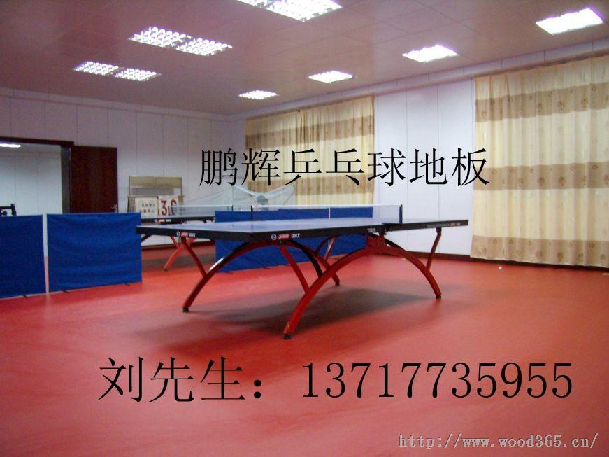 运动地板 运动地胶品牌 乒乓球运动地胶