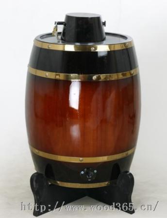白酒桶散装白酒桶木质酒桶带锁木酒桶带水龙头木酒桶25L