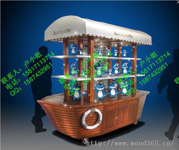 青羊广场售货车,商业街售货车,户外木制售货亭