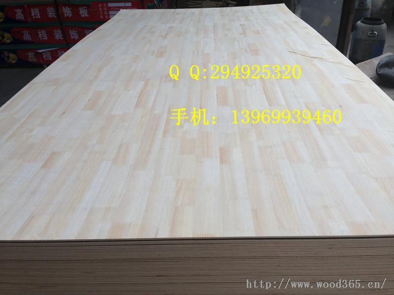 低价批发2-6厘齿接杉木/橡木饰面三夹板