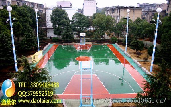 毕节塑胶篮球场