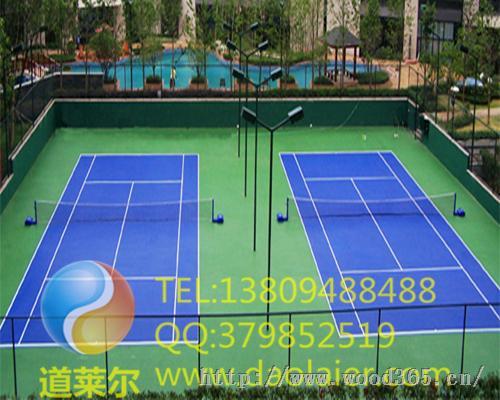 铜仁塑胶网球场