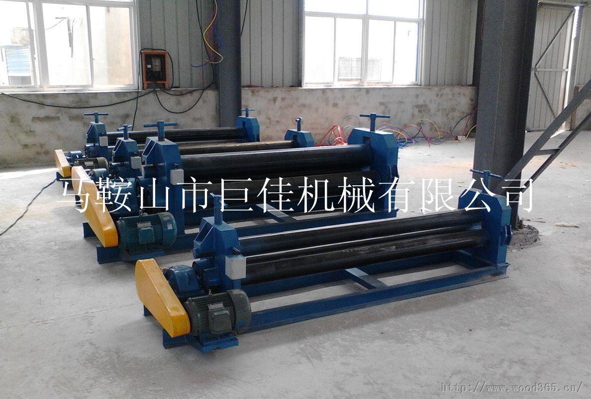 2米电动卷板机 W11-4*2000电动卷板机