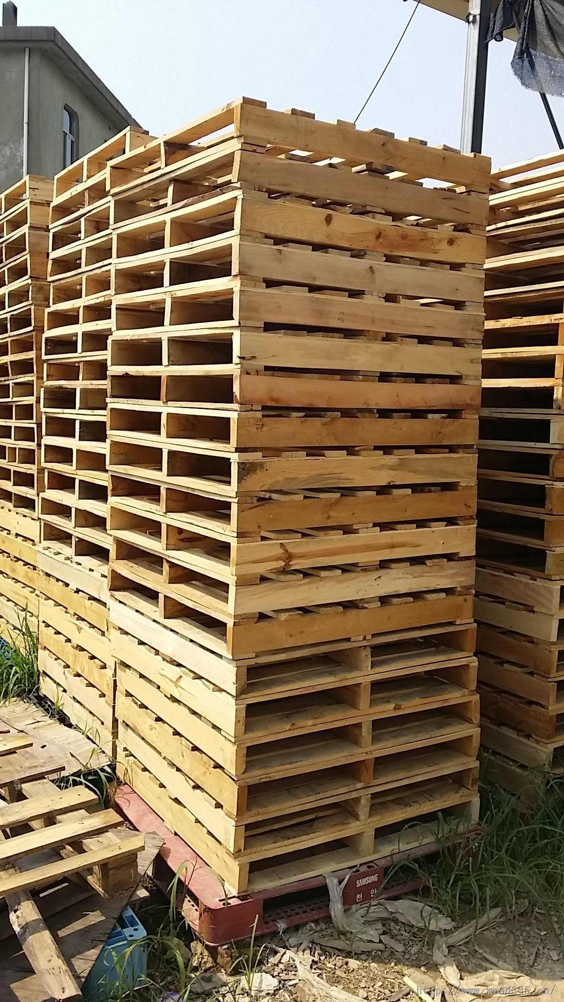 福清木托盘有限公司生产纯实木托盘,厂家直销防潮木托盘