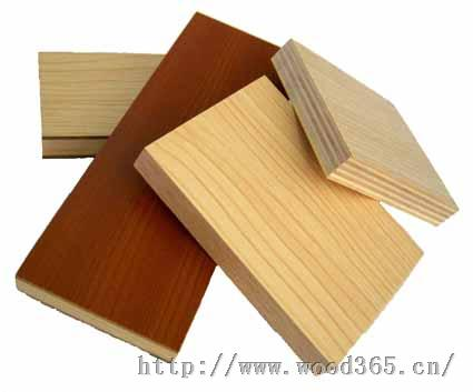樱桃木木纹三聚氰胺中密度板