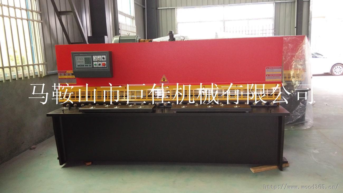 加工不锈钢剪板机,QC12K-6*4000数控剪板机,4米不锈钢剪板机