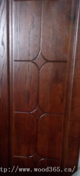 广东门厂红橡原木烤漆门