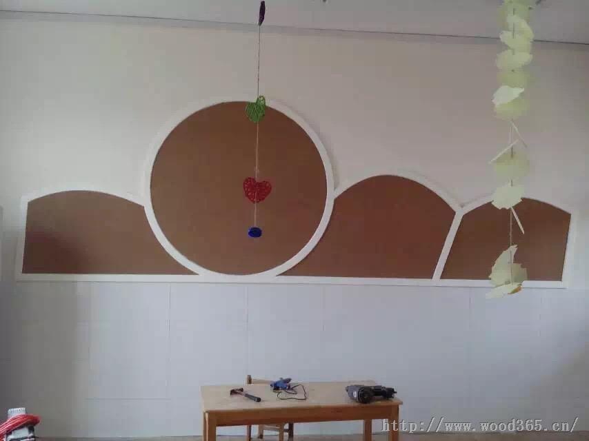 厂家批发水松木板_图钉软木板_图钉墙板留言板