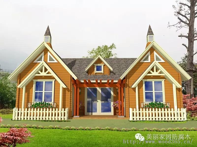 青岛木屋木别墅专业设计施工给您满意服务