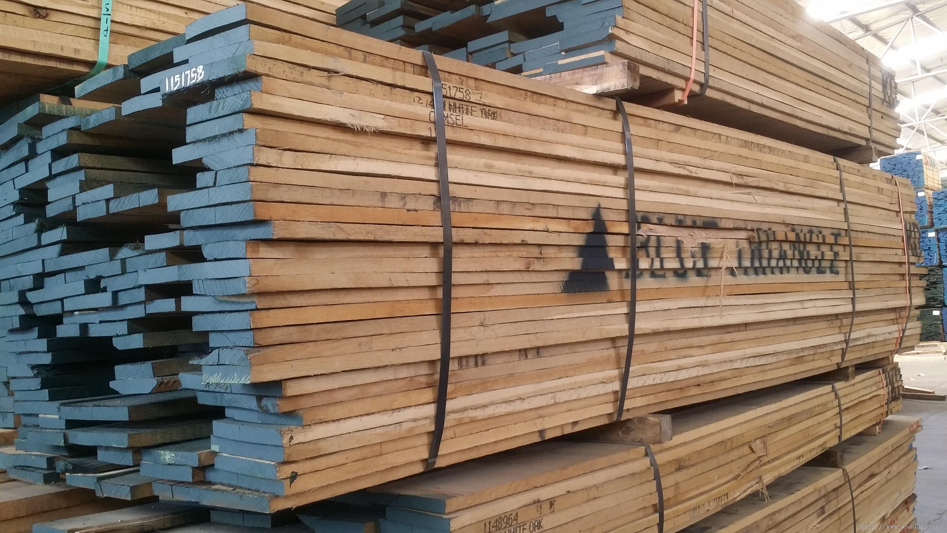 供应北美进口白ㄨ橡,红橡,白蜡木等