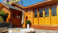 防腐木木屋、森林康养木屋制作、木房子木屋