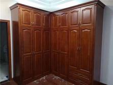 杭州实木酒柜定制 酒店衣柜 书房书柜