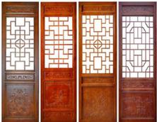 四川仿古门窗厂家、中式门窗定制、四川花格门窗销售