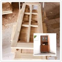 厂家直销特级无结黄桦木实木板材,不弯曲原木线条