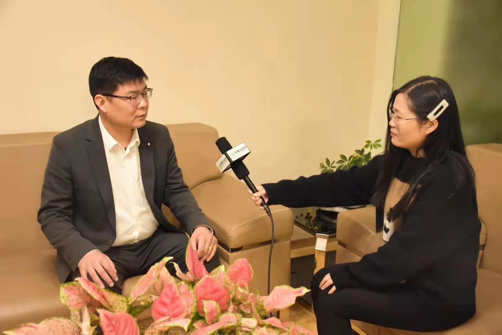 中国木业网记者采访好太太董事长张胜军